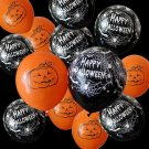 100 Pieces 12 Inches Spider Web Latex Balloons Inflatable Halloween Decorations