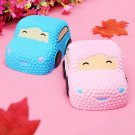 New Arrival for Squishy Smiley Face Car Racer Cake Kawaii Soft Slow Rising Toy S