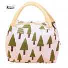 Fashion Lunch Bag Insulation Package Portable Waterproof Canvas Lunch Bag Therma