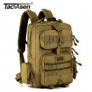 TACVASEN Men Military Molle Backpack 30L Camouflage Laptop Bags Waterproof Trave