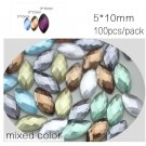 Wedding dress accessories Mixed color Much Size Special Shape Glue on flatback r