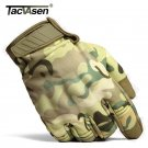 TACVASEN 2017 NEW Military Combat Gloves Men's Army Tactical Gloves Camouflage F