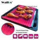 WALFOS food grade Pyramid Bakeware Pan Nonstick Silicone Baking Mat Pads Easy Me