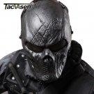 TACVASEN Wargame Tactical Mask Black God Full Face Airsoft Paintball Halloween C