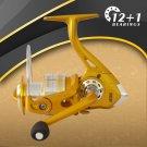 Fishdrops Golden Spinning reel  Left/Right Hand GR5.2:1  Free shipping