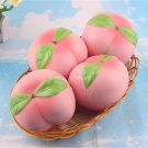 1PCS New Arrival Phone Strap Colossal 10CM Pink/White Peach Squishy Slow Rising