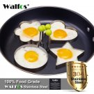 4 pieces /set Stainless steel Cute Shaped Fried Egg Mold Pancake Rings Mold Kitc