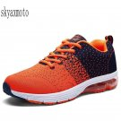 Skyaxmoto 2018 spring new flying woven  shoes men's breathable cushion air cushi