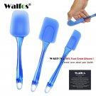 Walfos 3 pieces Kitchen Heat-resistant Flexible Silicone Spatulas Flipping Servi