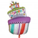 Birthday cake balls Birthday candle foil balloons large Size Birthday Party Air