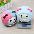 Portable Slow Sheep Model for Squishy 12cm Slow Rising Collection Gift Decor Cut