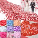 OurWarm 1000Pcs Wedding Flowers Silk Rose Petals Real Touch Artificial Flower fo