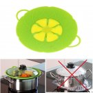 Spill silicone cover FDA&LFGB silicone spill-proof cover dustproof check overflo