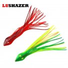 2pcs/lot Soft Fishing Lure 15cm 7g silicone lure soft baits fishing lures iscas