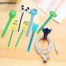 6Pcs Cartoon Earphone Cable Winder Charging Data Line Wire Cord Organizer Windin
