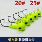 3pcs/lot Fishing lead head hook 8g15g20g25g carp fishing angeln swivels peche ac