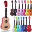 21 Inch Ukulele Hawaii Wooden Nylon String Guitar Portable Size Ukelele Music