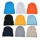 Unisex Slouchy Knitting Beanie Hip Hop Cap Warm Winter Ski Hat winter hats for