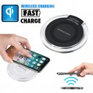 Portable Mini Acrylic QI Wireless Charger For Pad Mat For Iphone 8/8 Plus/X For
