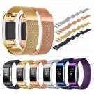 Bakeey Replacement Magnetic Stainless Steel Wristband Strap For Fitbit Charge 2