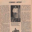 Joe Beeler, Cowboy Artist and Painter of Western Art