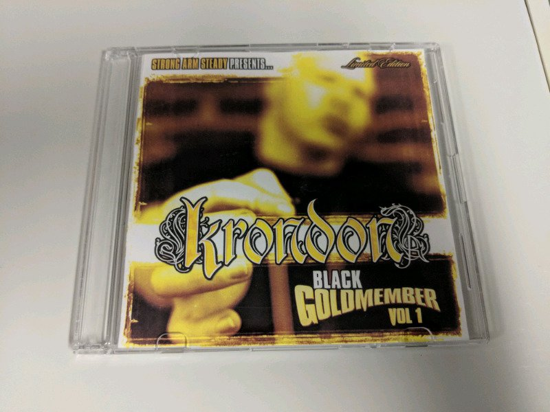 Krondon - Black Goldmember Vol. 1 - 2003 CD Promo Strong Arm Steady