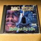 MC Ren - Ruthless For Life - 1998 CD N.W.A Eazy-E Dr. Dre Ice Cube