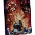 Fullmetal Alchemist Anime Art Framed Canvas Print Decor