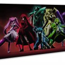Akame Ga Kill Anime   20x16 Framed Canvas Print