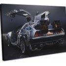 Back To The Future DMC 12 Car Wall Decor 20x16 Framed Canvas Print