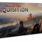 Dragon Age Inquisition Characters   20x16 FRAMED CANVAS Print