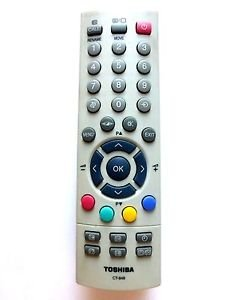 ORIGINAL TOSHIBA REMOTE CONTROL CT-848