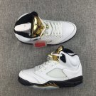 Air Jordan 5 Aj5 Gold Medal Tennis Shoes Brand New Authentic