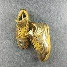 Air Jordan 4 Aj4 Liquid GoldTennis Shoes Brand New Authentic