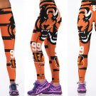Cincinnati Bengals #99 NFL Football Sports Leggings Womens