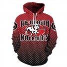 American University Georgia Bulldogs NCAA Football Hoodies