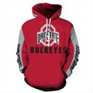 American University Ohio State Buckeyes NCAA Football Hoodies