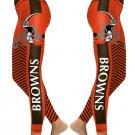 Cleveland Browns New Season NFL Football Women's Leggings Size L