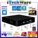 Mini PC TV Media Box Windows 10 Intel Z8350 2G 32G Dual WiFi BT4 Gigabit