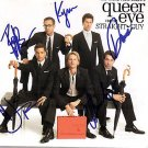 Queer Eye For the Straight Guy Autographed CD Cover PSA/DNA AFTAL