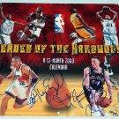 Vin Baker KC Jones Alonzo Mourning Signed Basketball Poster