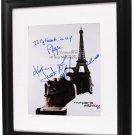 John Travolta Cast Autographed From Paris with Love 11x14 Photo AFTAL