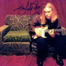 Kenny Wayne Shepherd Autographed Guitar Legend 8x10 Photo AFTAL