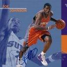 Joe Johnson Autographed 8x10 Phoenix Suns Promo Photo AFTAL UACC RD COA