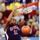 Vin Baker Signed Autographed Basketball Photo & Proof