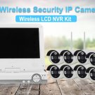 8 Channel NVR Kit- Linux OS,8x HD Cams, 10-Inch HD Display, Nightvision, WiFi, SATA HDD 8TB