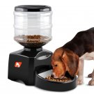Automatic Pet Feeder - 5L Tank, Supports Dry Food, Voice Recording, 3 Meals/ day