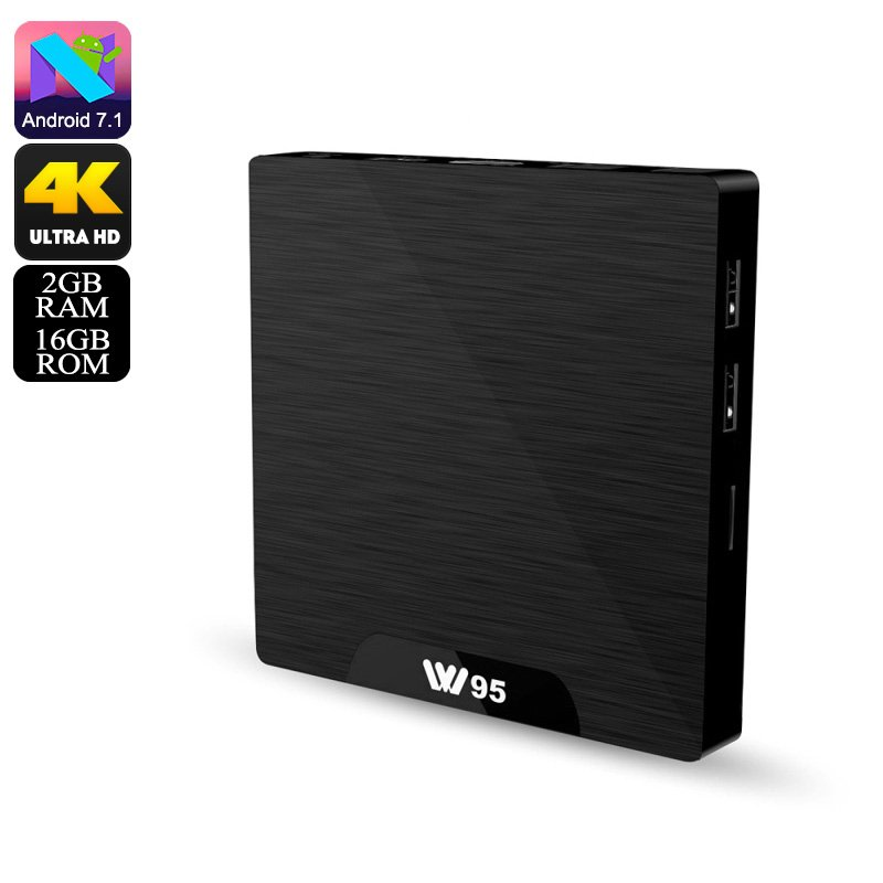 W95 Android 7.1 4K TV Box