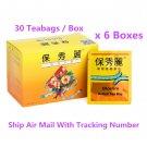 Bioslim Tea Bio Slim Mild Laxative Herbal Tea Bags 30 Teabags x 6