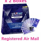 Crest 3D white Whitestrips Professional Effects 40 Strips 20 Pouches x 2 Boxes